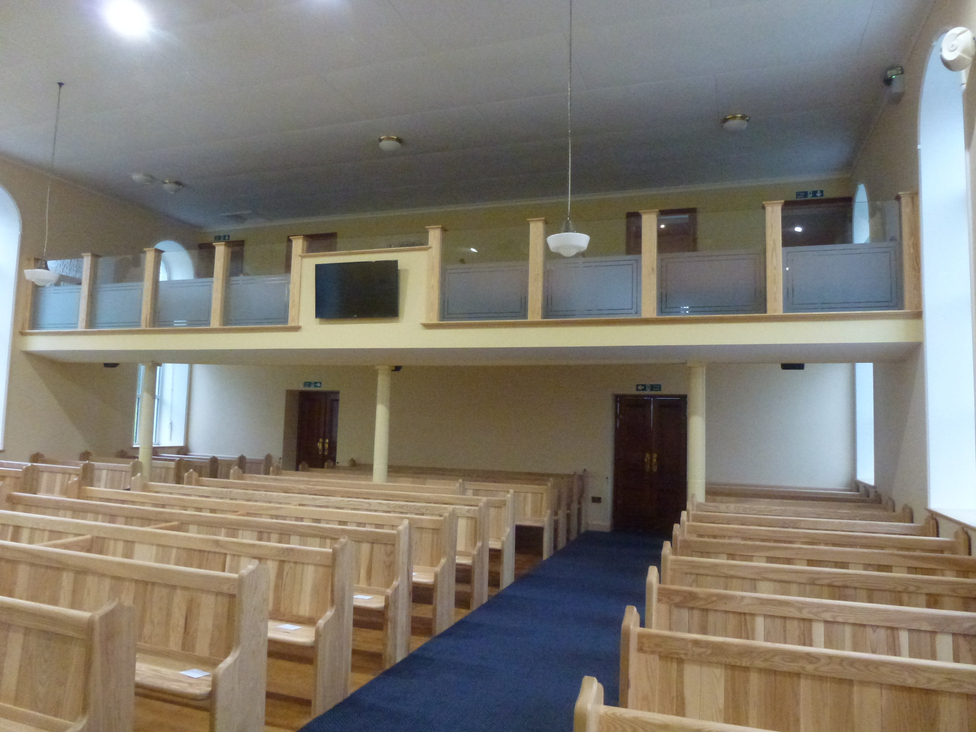 Interior of Clare Presbyterian Church Tandragee after renovation